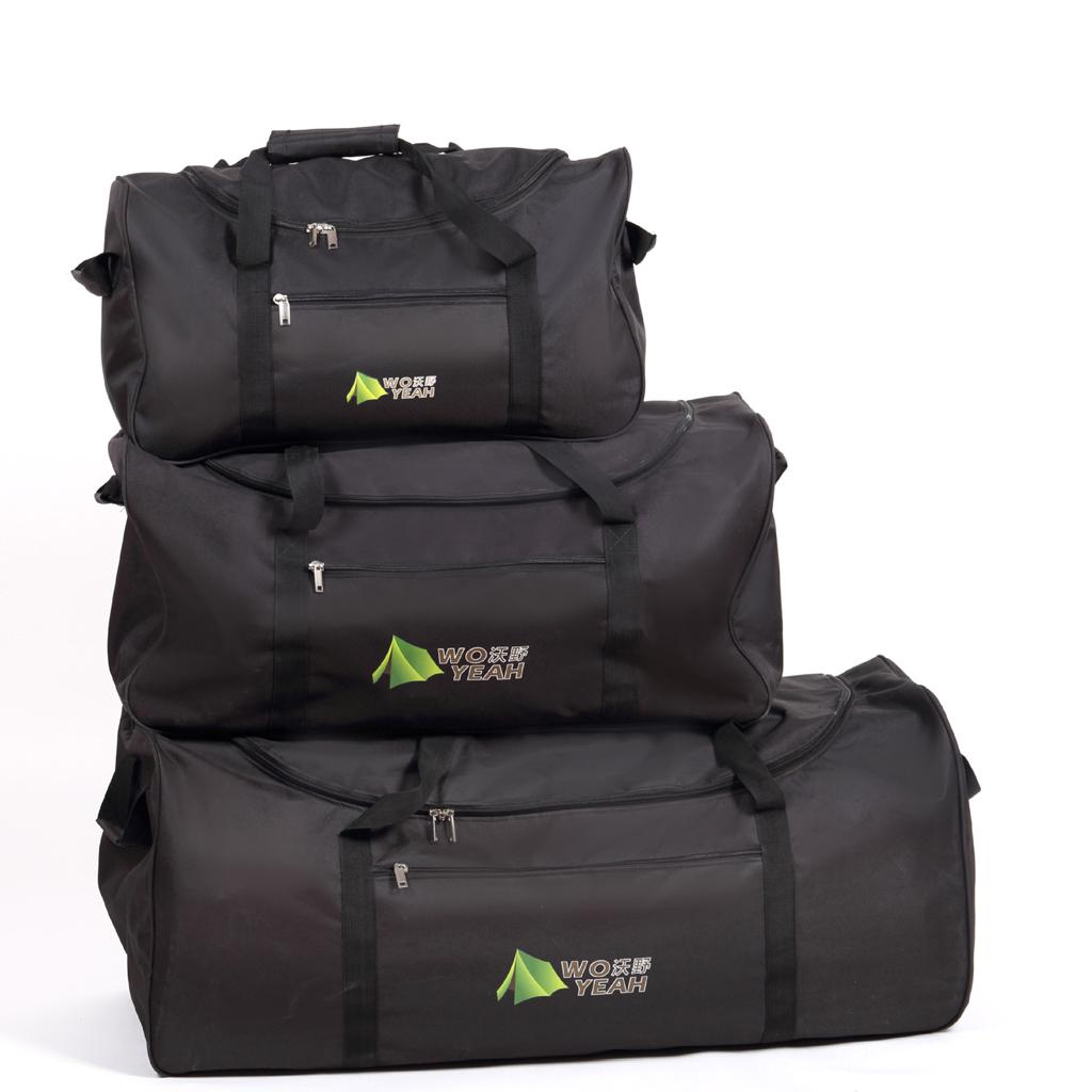 Large Heavy Duty Tent Camping Fishing Storage Holder Bag Travel Duffel Pack