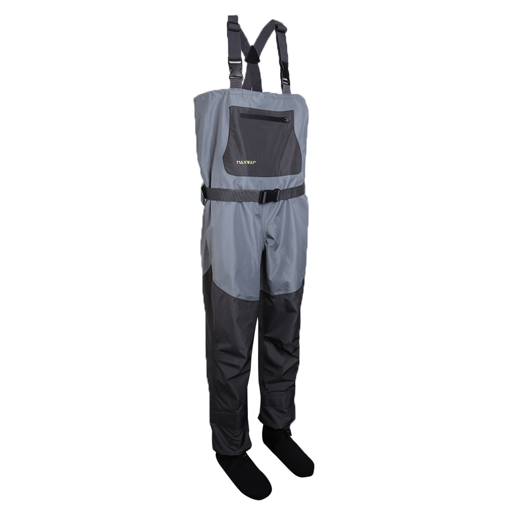 Light-Weight-Fishing-Waders-Waterproof-Chest-Wader-for-Fishing-Rafting-Farm thumbnail 2