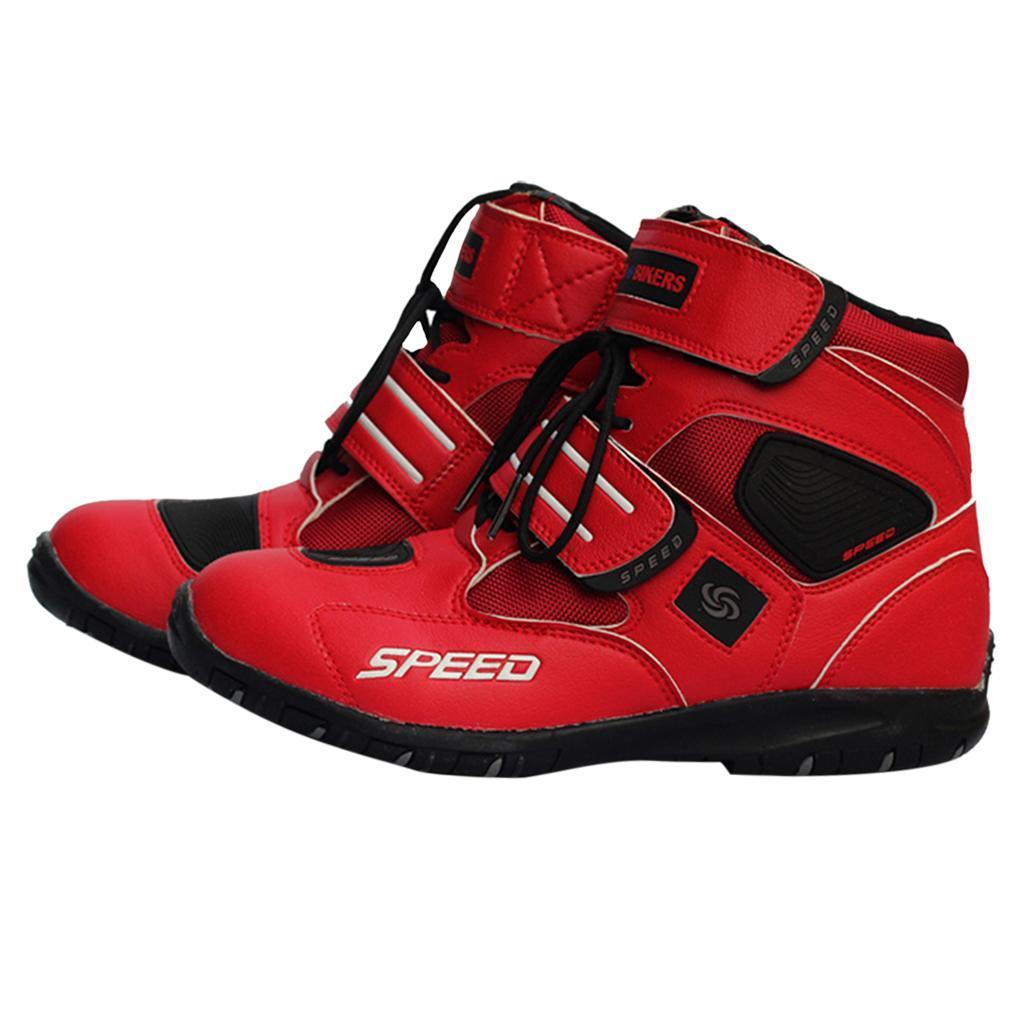 paio-di-scarpe-sportive-da-corsa-per-moto-da-corsa-impermeabili miniature 19
