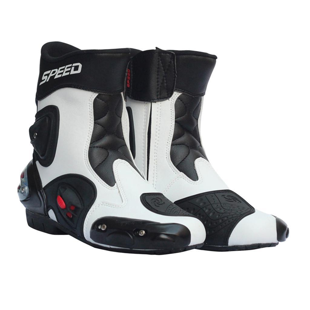 Bottes-de-Moto-Mode-Touring-Chaussures-d-039-Equitation miniature 32