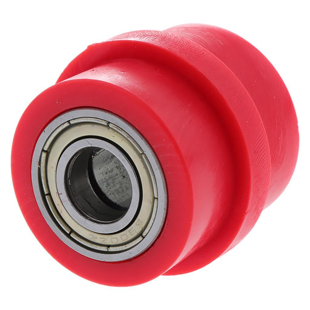 Motorcycle-Chain-Tensioner-Pulley-Wheel-Moto-Chain-Roller-Slider-10mm miniature 7