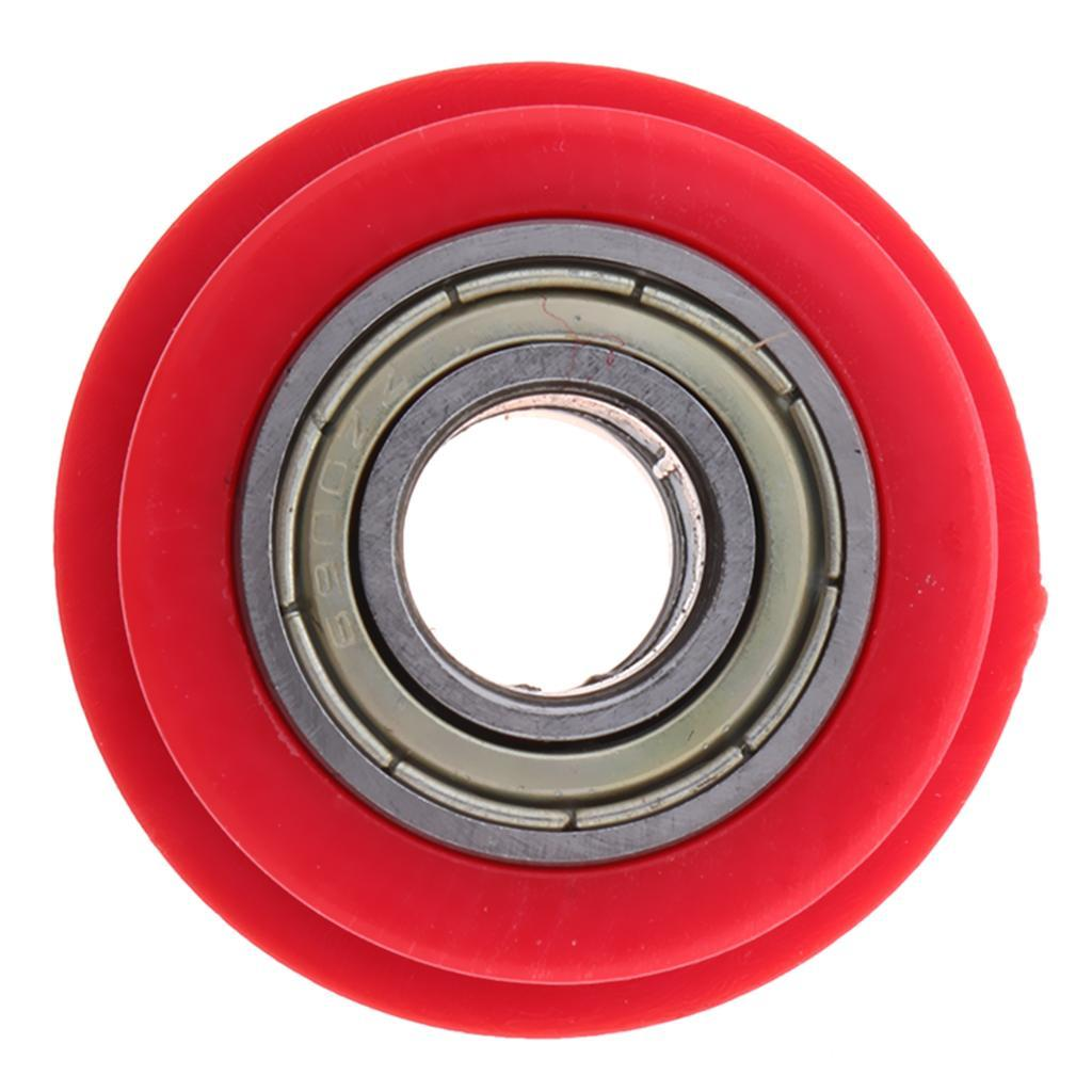 Motorcycle-Chain-Tensioner-Pulley-Wheel-Moto-Chain-Roller-Slider-10mm miniature 6