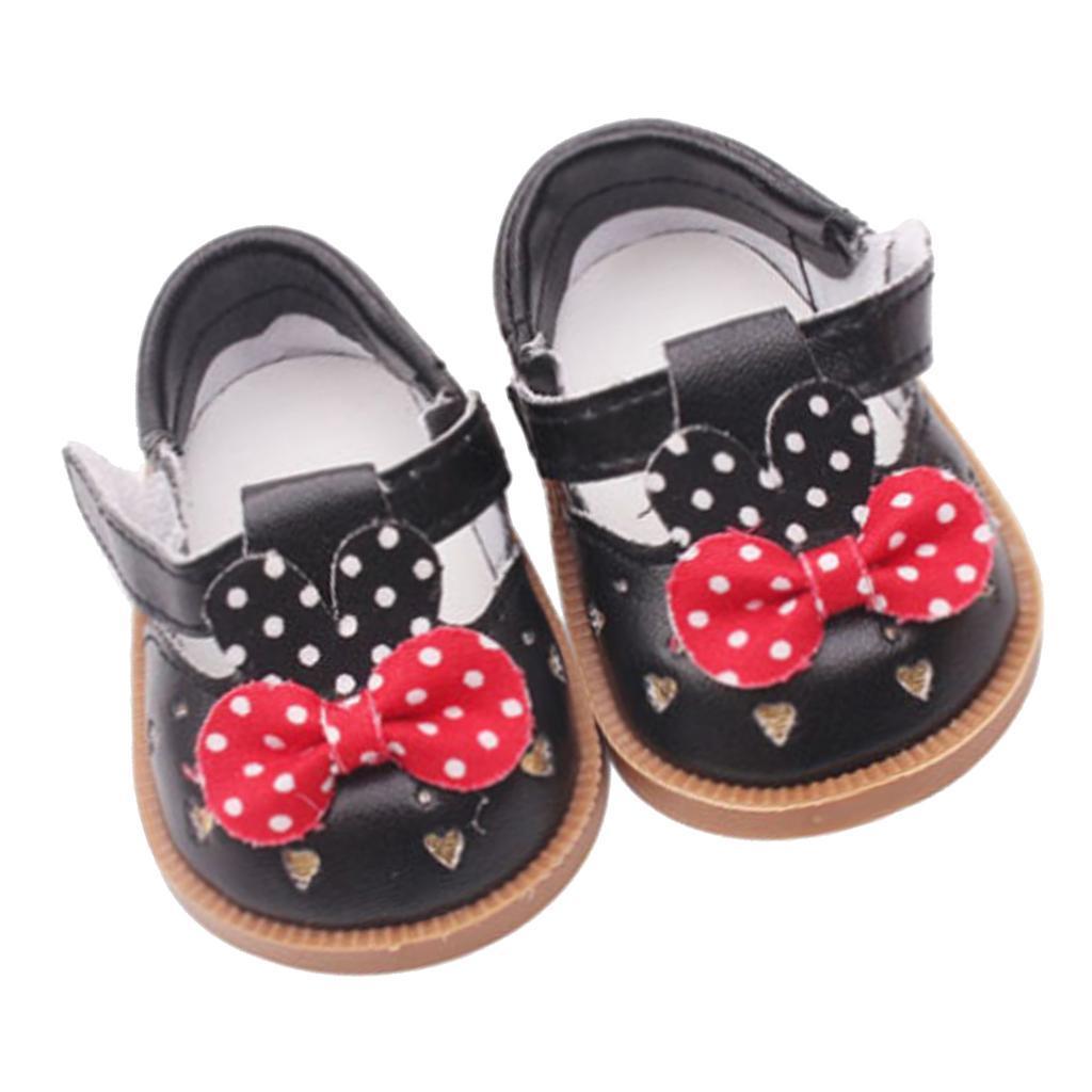 Vetement-de-Poupee-Chaussures-Animes-en-Cuir-PU-Decoration-pour-Poupees miniature 7