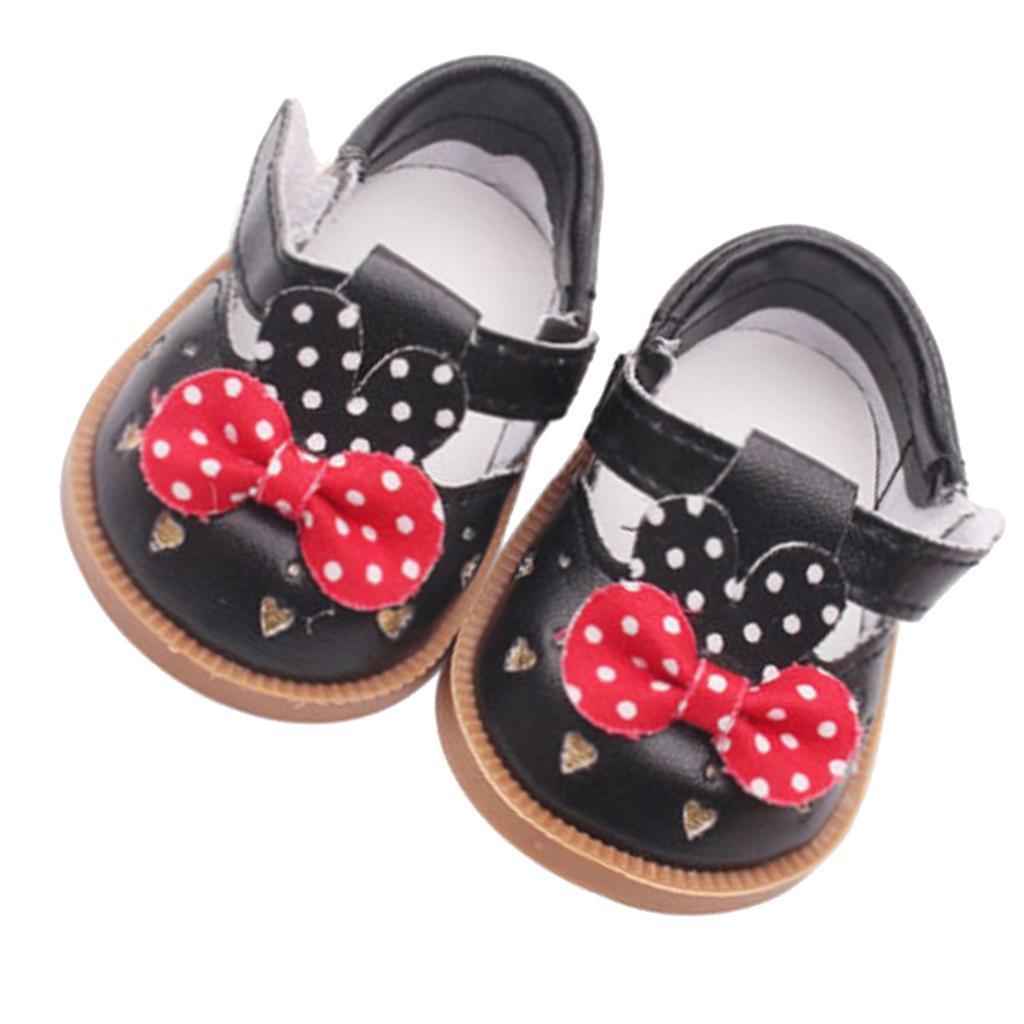 Vetement-de-Poupee-Chaussures-Animes-en-Cuir-PU-Decoration-pour-Poupees miniature 8