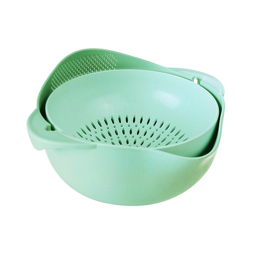 Fruit Washing Drainer Rice Colander Water Sink Cleaning Container ...