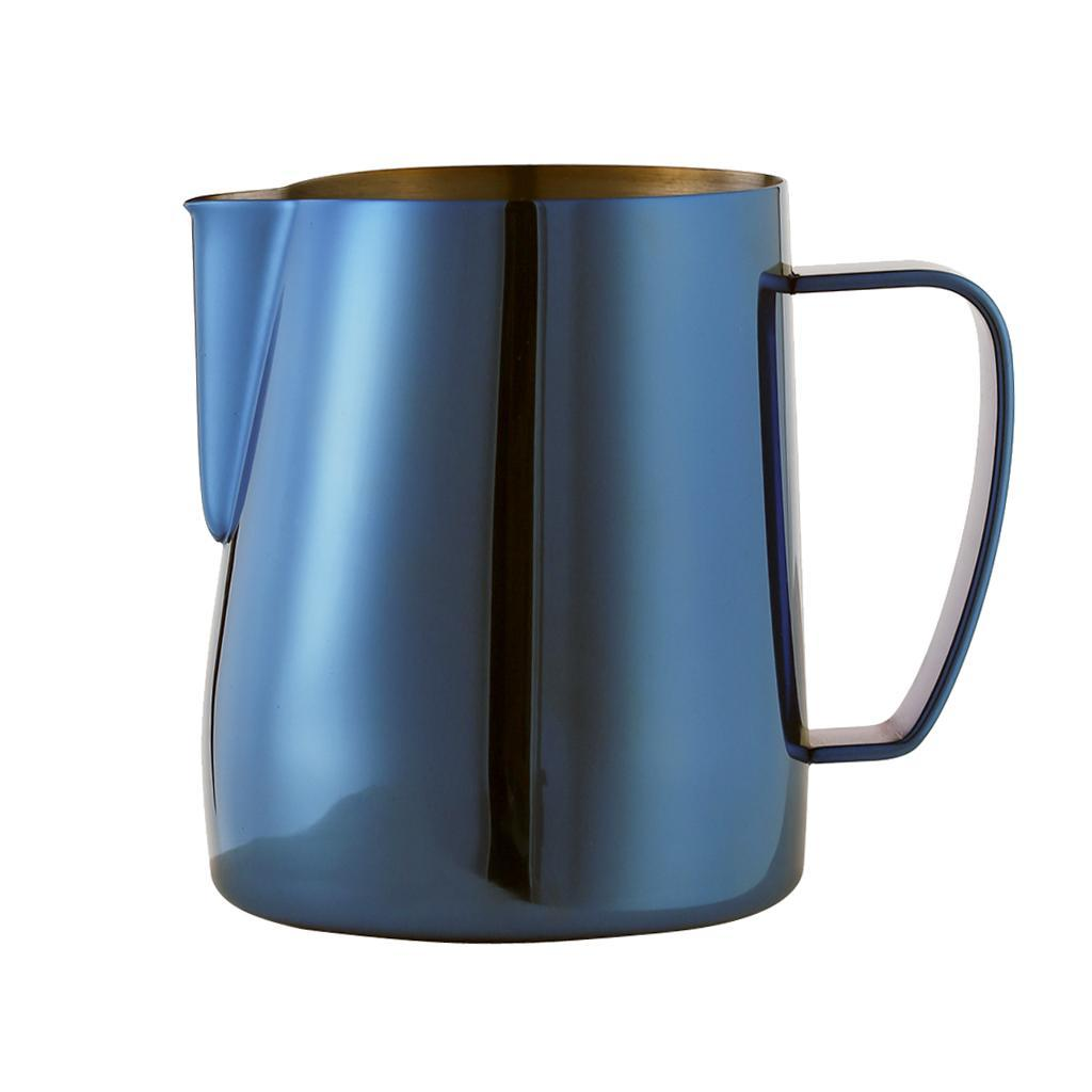Milk-Pitcher-Stainless-Steel-Cup-Frothing-Pitcher-Jug-Coffee-Latte-600ml thumbnail 6