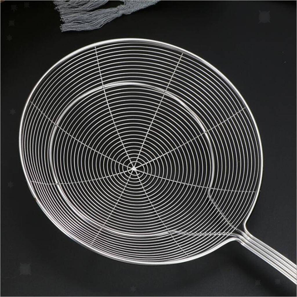 Filtro-siviera-per-mestolo-con-manico-Mestolo-per-friggere miniatura 14