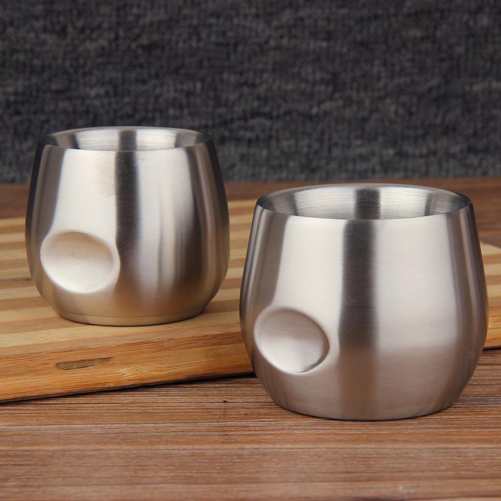 miniatura 6 - Bicchiere da viaggio in acciaio inox calici senza vuoto