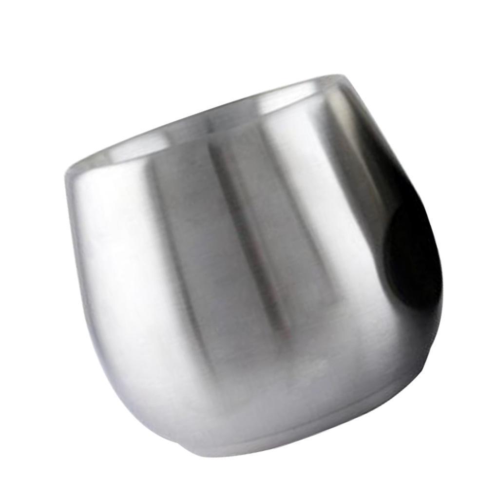miniatura 4 - Bicchiere da viaggio in acciaio inox calici senza vuoto