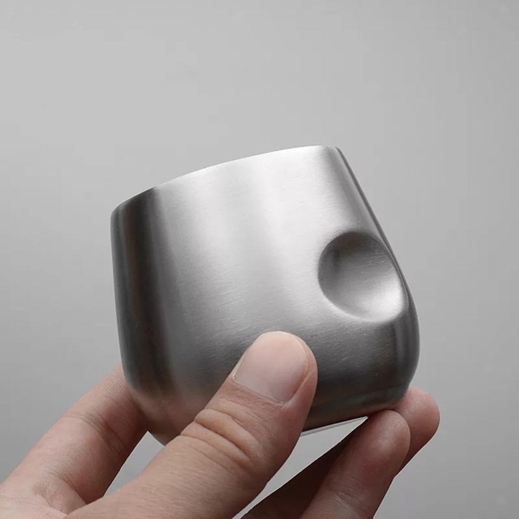 miniatura 5 - Bicchiere da viaggio in acciaio inox calici senza vuoto