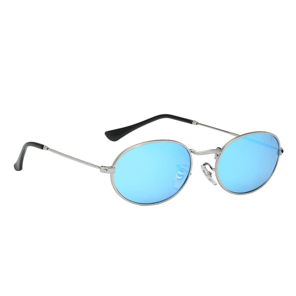 Vintage-Round-Frame-Womens-Men-039-s-Retro-Mirror-Sunglasses-Eyewear-Fashion-Glasses thumbnail 5