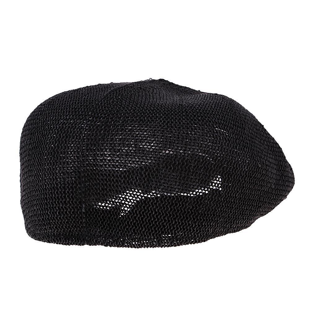 cappello-estivo-da-uomo-estivo-in-paglia-traspirante-berretto-newsboy miniatura 6