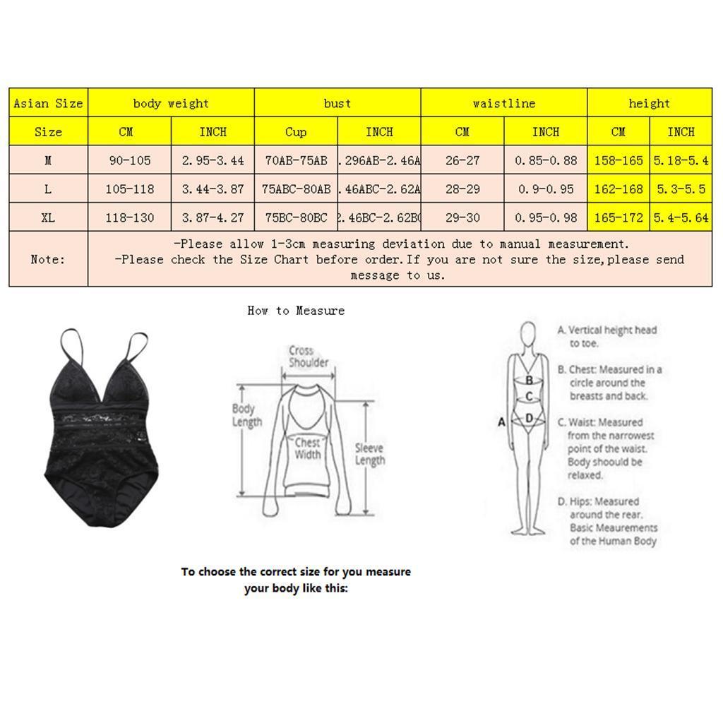 Femme-Maillot-de-Bain-1-Piece-elegant-Amincissant-Bikini-Sexy-Transparent miniature 16