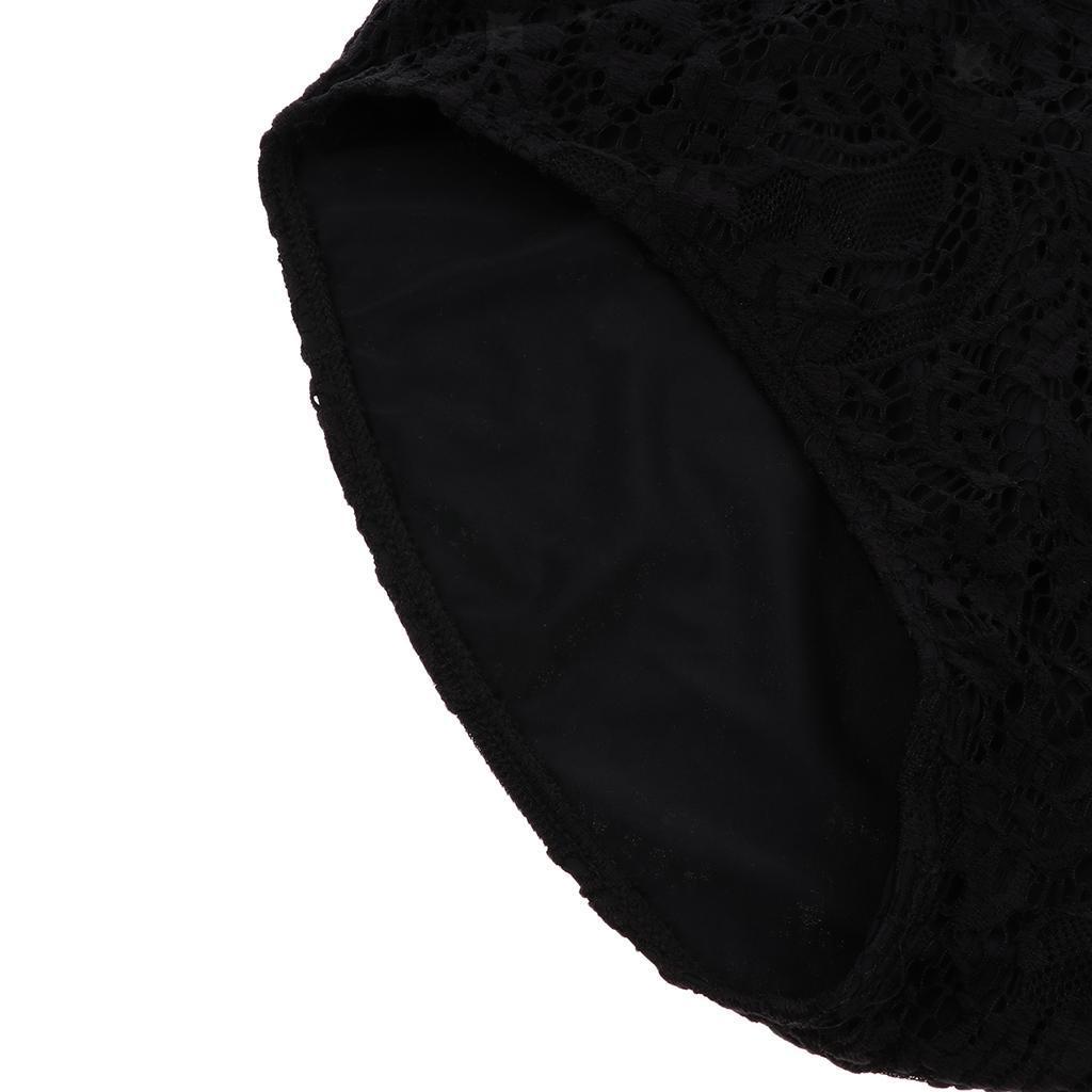 Femme-Maillot-de-Bain-1-Piece-elegant-Amincissant-Bikini-Sexy-Transparent miniature 13