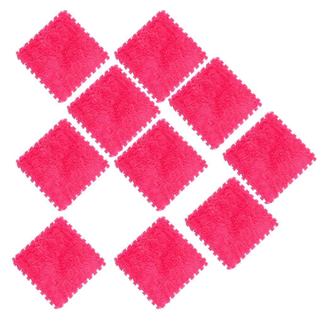 10Pcs-Foam-Children-Soft-Play-Exercise-Mats-Safe-Interlocking-Puzzle-Tiles thumbnail 14