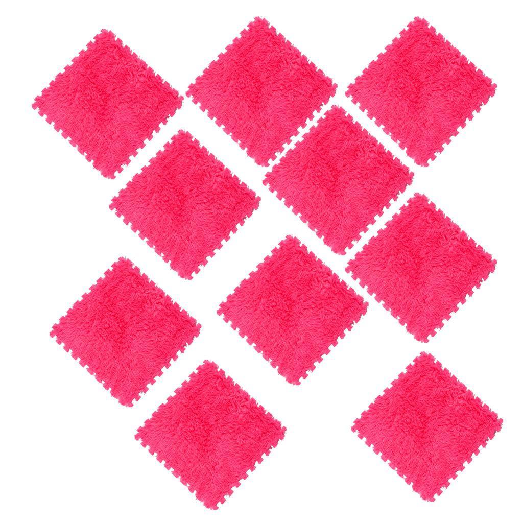 10Pcs-Foam-Children-Soft-Play-Exercise-Mats-Safe-Interlocking-Puzzle-Tiles thumbnail 15
