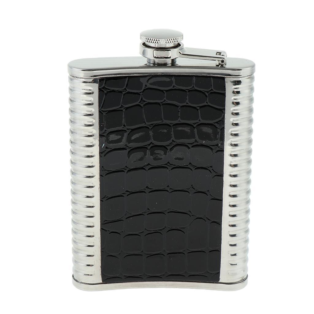 8oz-304-Stainless-Steel-Pocket-Hip-Flask thumbnail 3