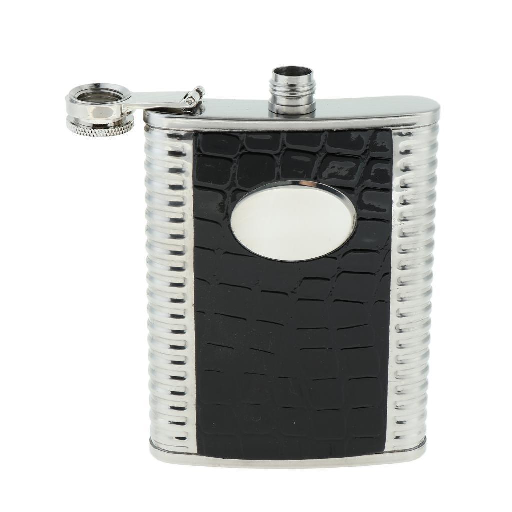 8oz-304-Stainless-Steel-Pocket-Hip-Flask thumbnail 4