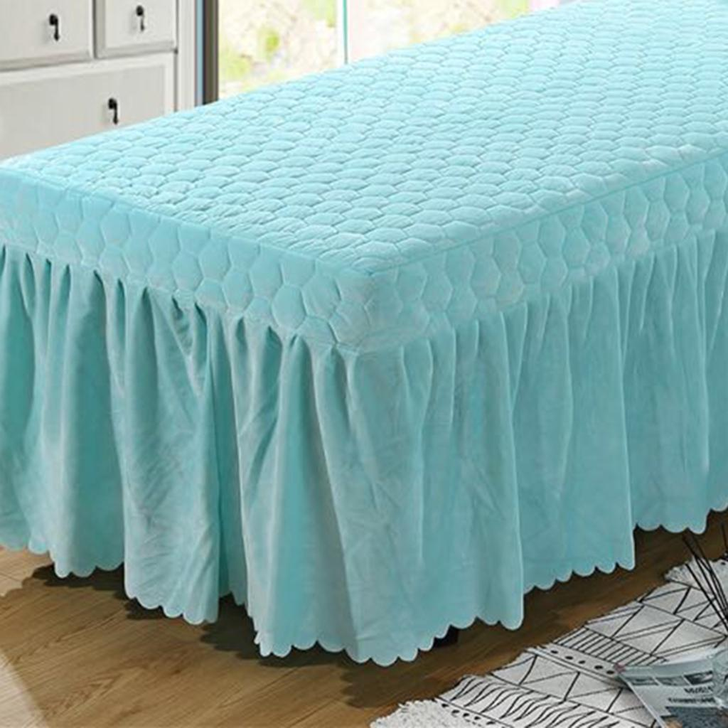 SPA-Massage-Bed-Bedding-Linen-Set-Table-Skirts-Pillow-Case-Stool-Cover thumbnail 10