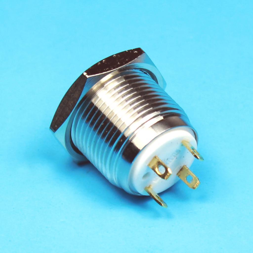 12V-Luz-Indicadora-de-Metal-Lampara-para-Senal-de-Giro-Proyecto-de-Bricolaje miniatura 13