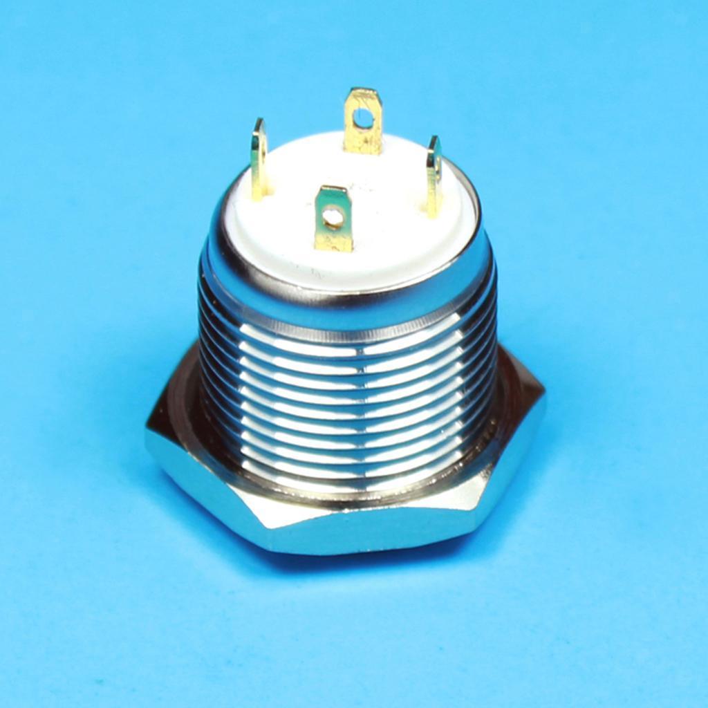 12V-Luz-Indicadora-de-Metal-Lampara-para-Senal-de-Giro-Proyecto-de-Bricolaje miniatura 14