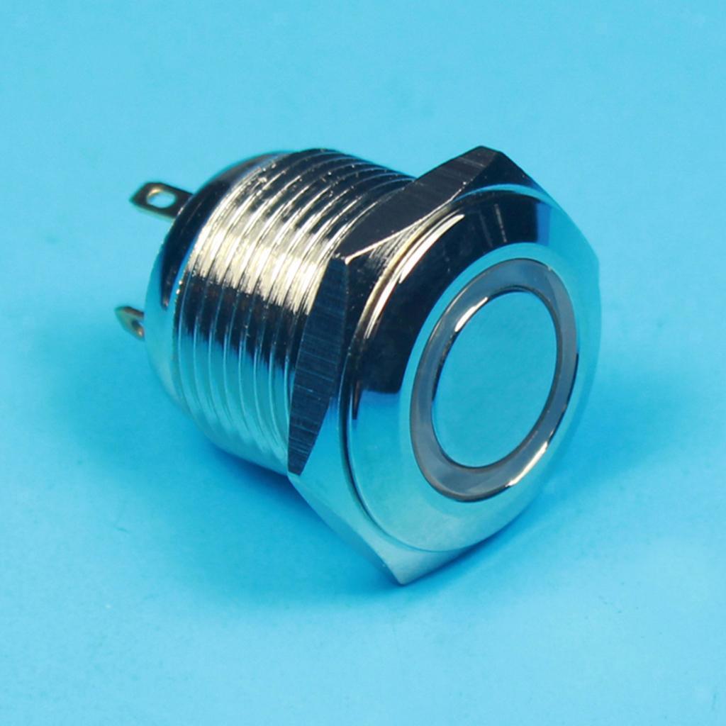 12V-Luz-Indicadora-de-Metal-Lampara-para-Senal-de-Giro-Proyecto-de-Bricolaje miniatura 15
