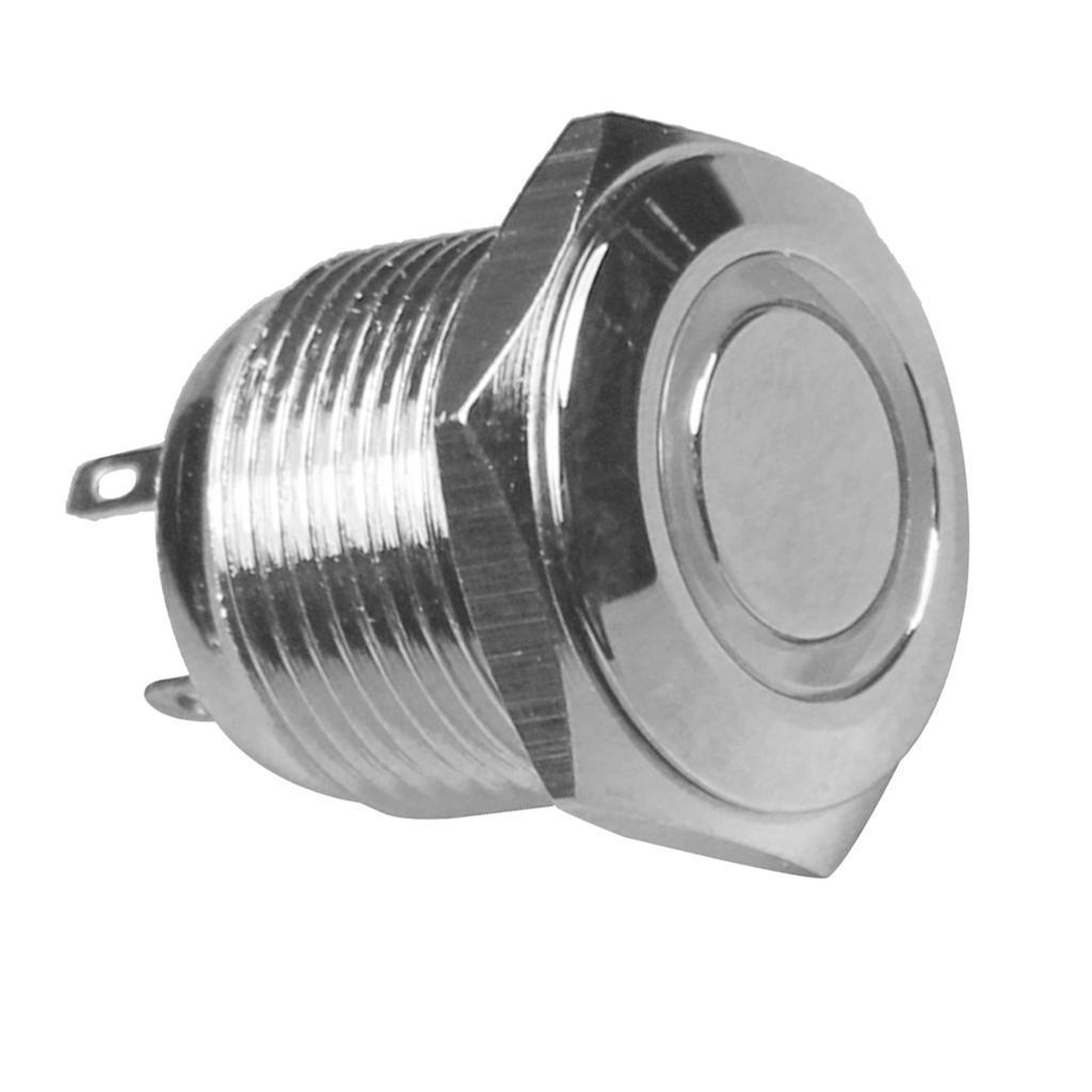 12V-Luz-Indicadora-de-Metal-Lampara-para-Senal-de-Giro-Proyecto-de-Bricolaje miniatura 12