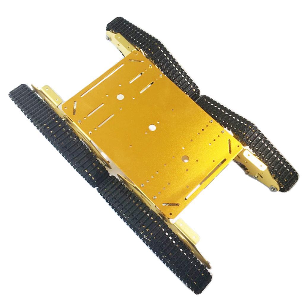 marche online vendita a basso costo Piattaforma di controllo remoto chassis 4-Drive Smart Tank + 4 4 4 motori CC per  ti aspetto