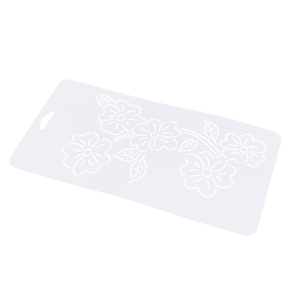 1pc-Plastic-Embroidery-Quilting-Templates-amp-Stencils-Sewing-Patchwork-Tools-DIY thumbnail 3
