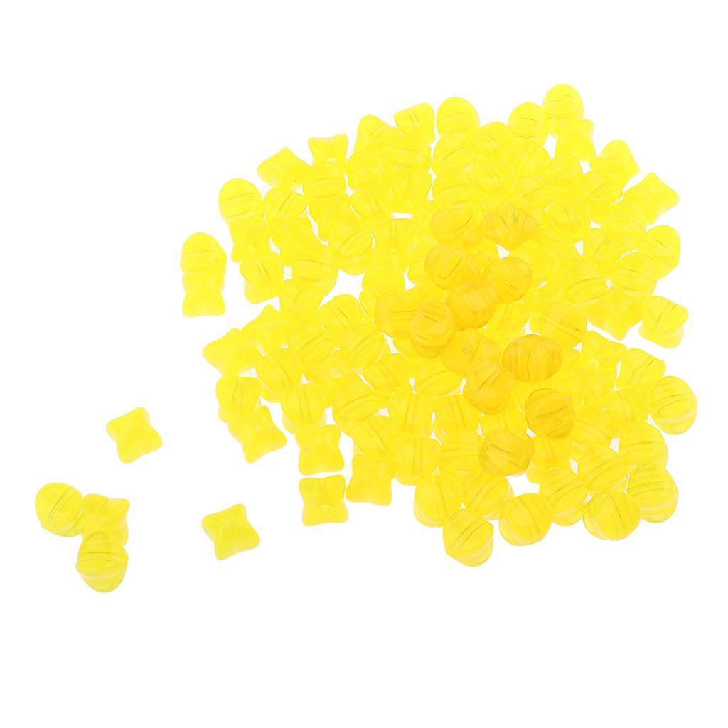 100g-9mm-Acrylic-Loose-Beads-Square-Jelly-Design-DIY-Jewelry-Findings-Making thumbnail 14