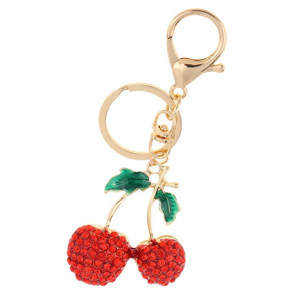 Alloy-Fashion-Flamingo-Rhinestone-Keyring-Bag-Hanging-Decor-Women-Keychain thumbnail 4
