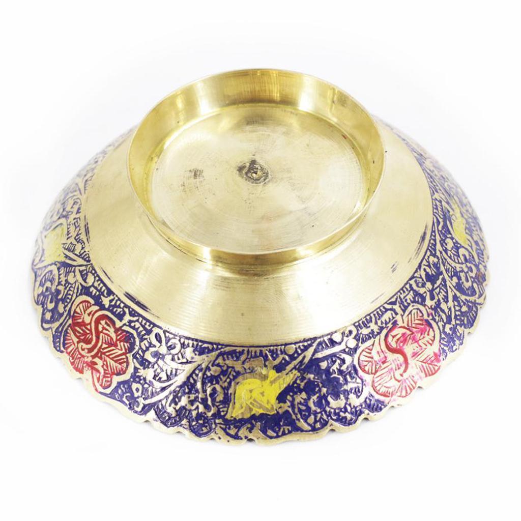 Piatta-Cibo-Casa-Servire-Tavola-Frutta-Buddismo-Decorazione-Collezioni miniatura 11