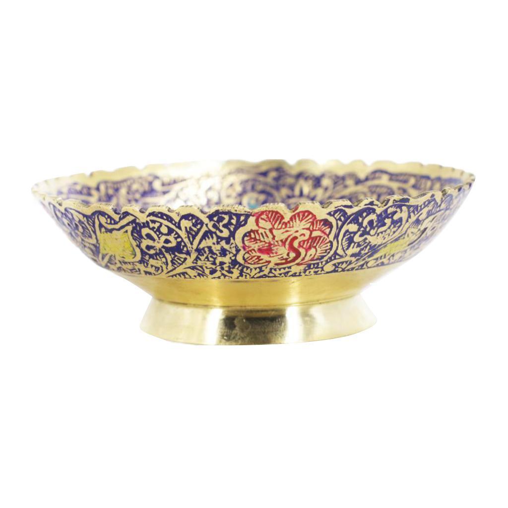 Piatta-Cibo-Casa-Servire-Tavola-Frutta-Buddismo-Decorazione-Collezioni miniatura 9