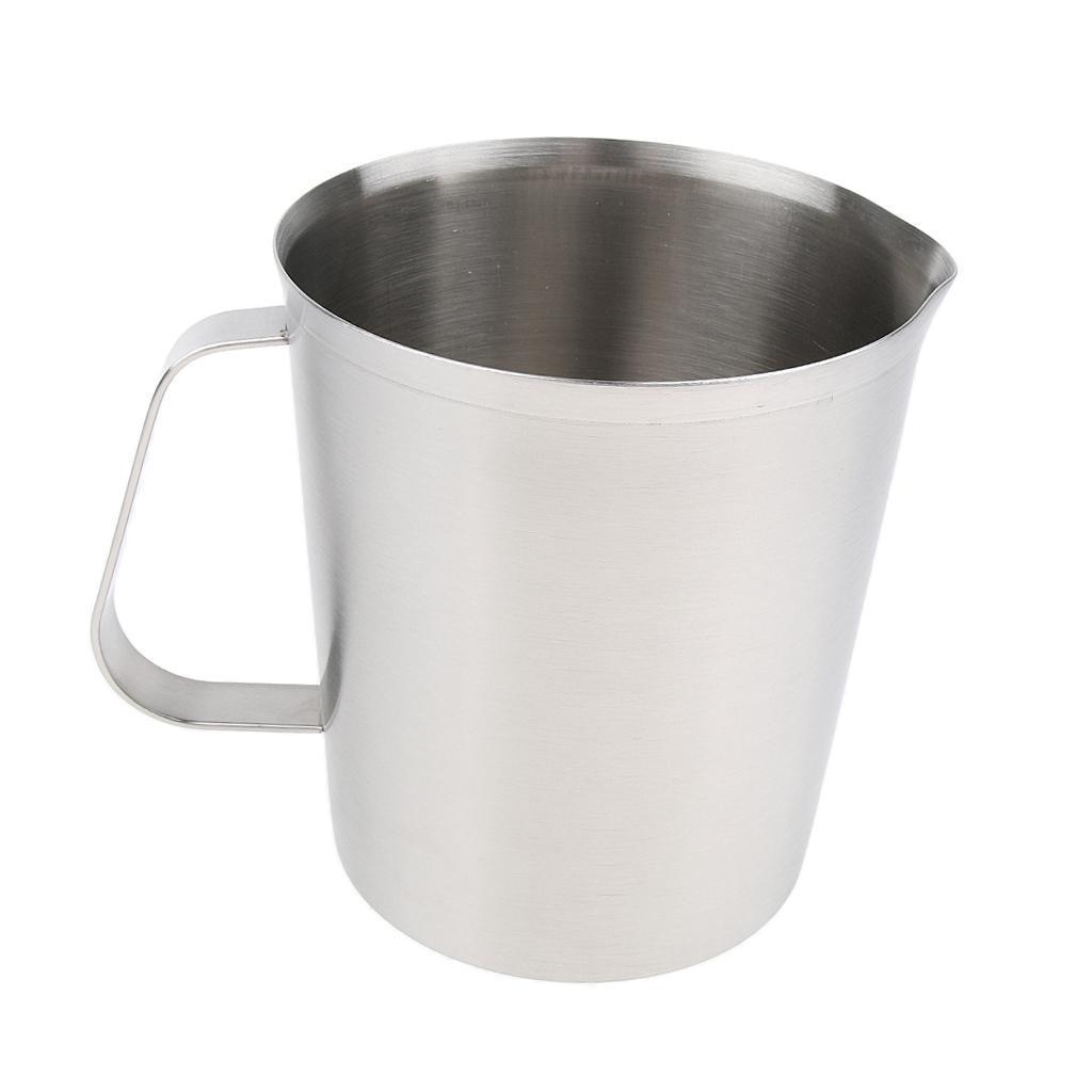 Coppa-Tazza-Tumbler-Abbellimenti-Frullamento-Latte-Cucina-Caffettiera miniatura 13