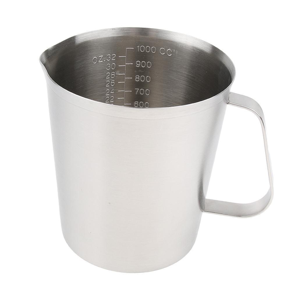 Coppa-Tazza-Tumbler-Abbellimenti-Frullamento-Latte-Cucina-Caffettiera miniatura 14