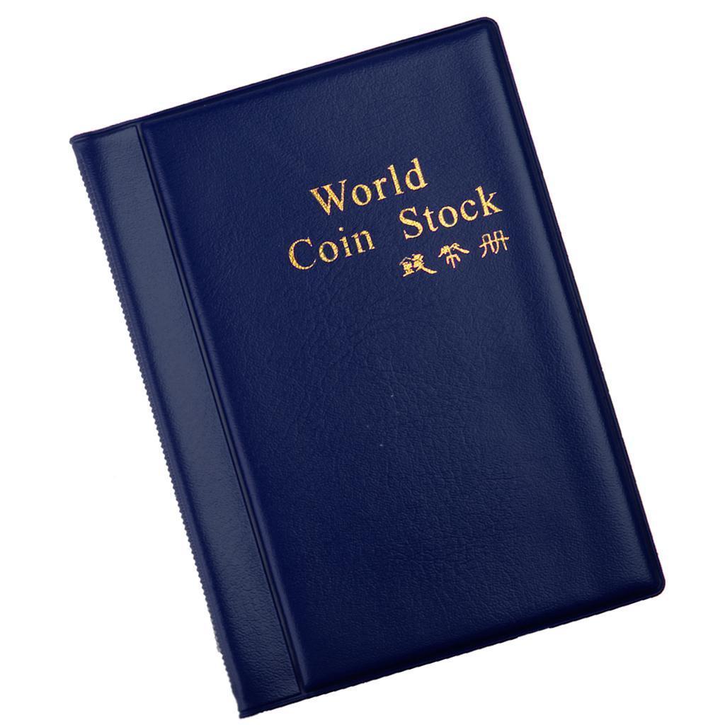 Raccoglitore-per-Monete-da-Collezione-Album-Portamonete-120-Tasche-10-Fogli miniatura 27
