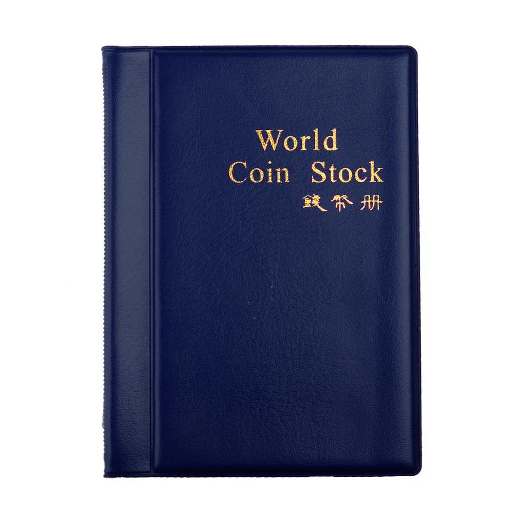 Raccoglitore-per-Monete-da-Collezione-Album-Portamonete-120-Tasche-10-Fogli miniatura 28