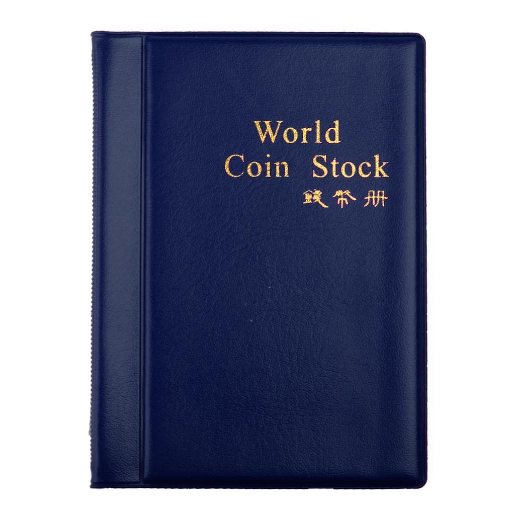 Raccoglitore-per-Monete-da-Collezione-Album-Portamonete-120-Tasche-10-Fogli miniatura 25