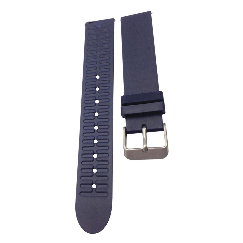 Indexbild 5 - Smart Watch Wristband, TPE Gummi Gel Handgelenk Band Bügel Gurt und
