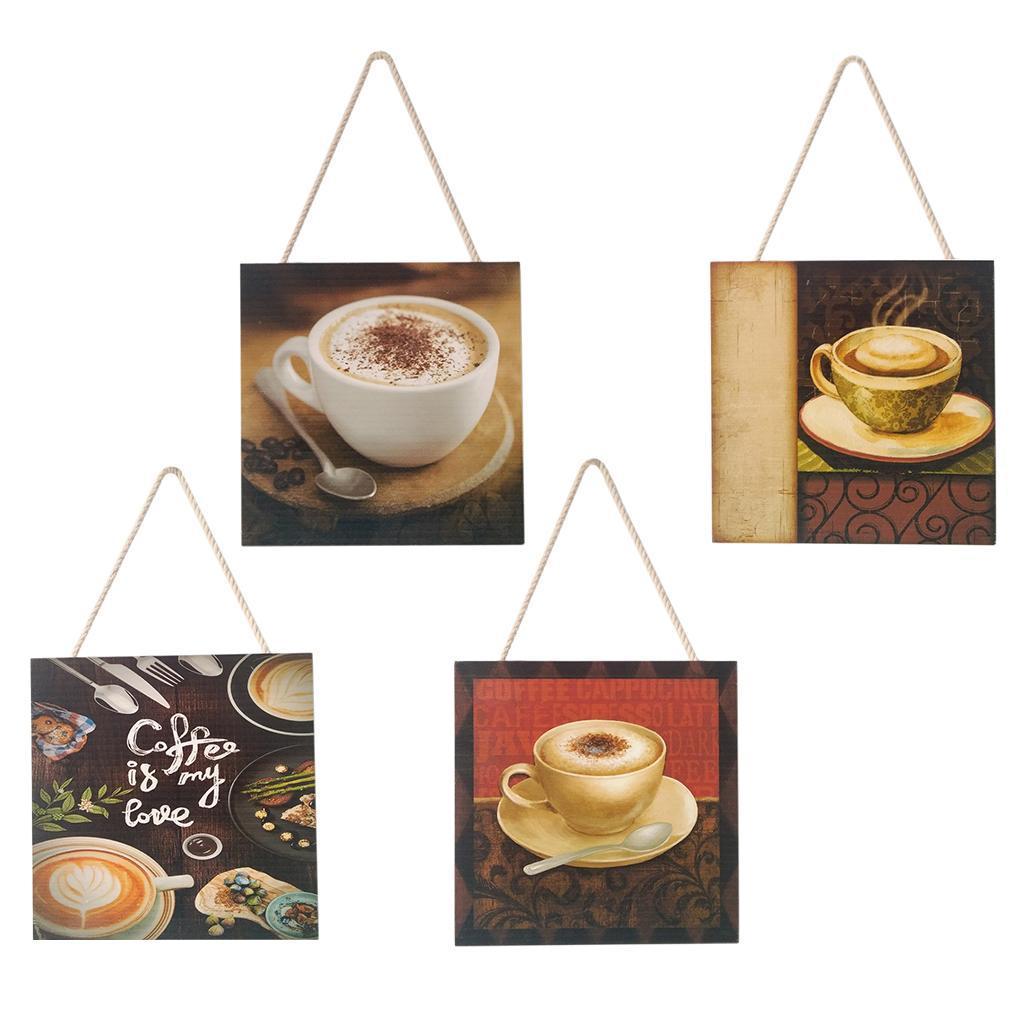 Caffe-d-039-annata-del-modello-del-segno-del-segno-di-legno-per-la-decorazione miniatura 6