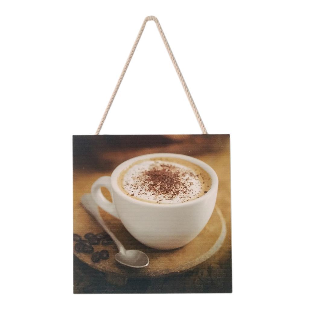 Caffe-d-039-annata-del-modello-del-segno-del-segno-di-legno-per-la-decorazione miniatura 3