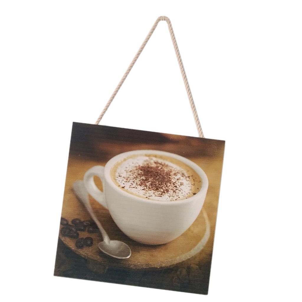 Caffe-d-039-annata-del-modello-del-segno-del-segno-di-legno-per-la-decorazione miniatura 4