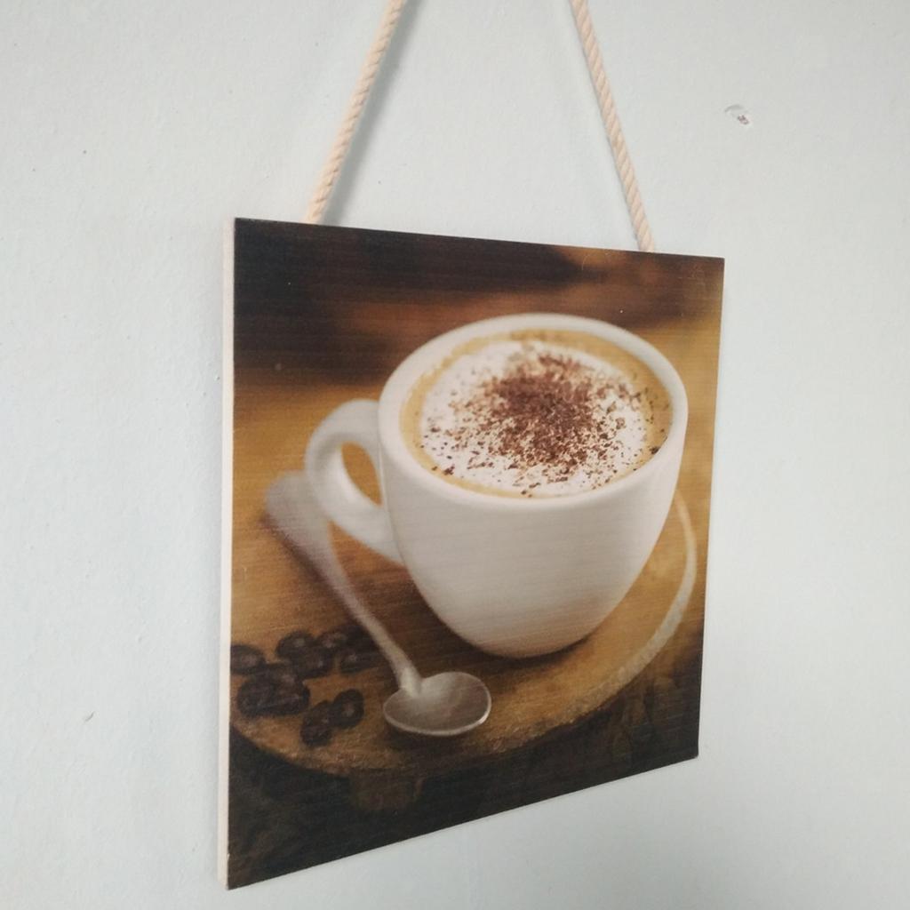 Caffe-d-039-annata-del-modello-del-segno-del-segno-di-legno-per-la-decorazione miniatura 5