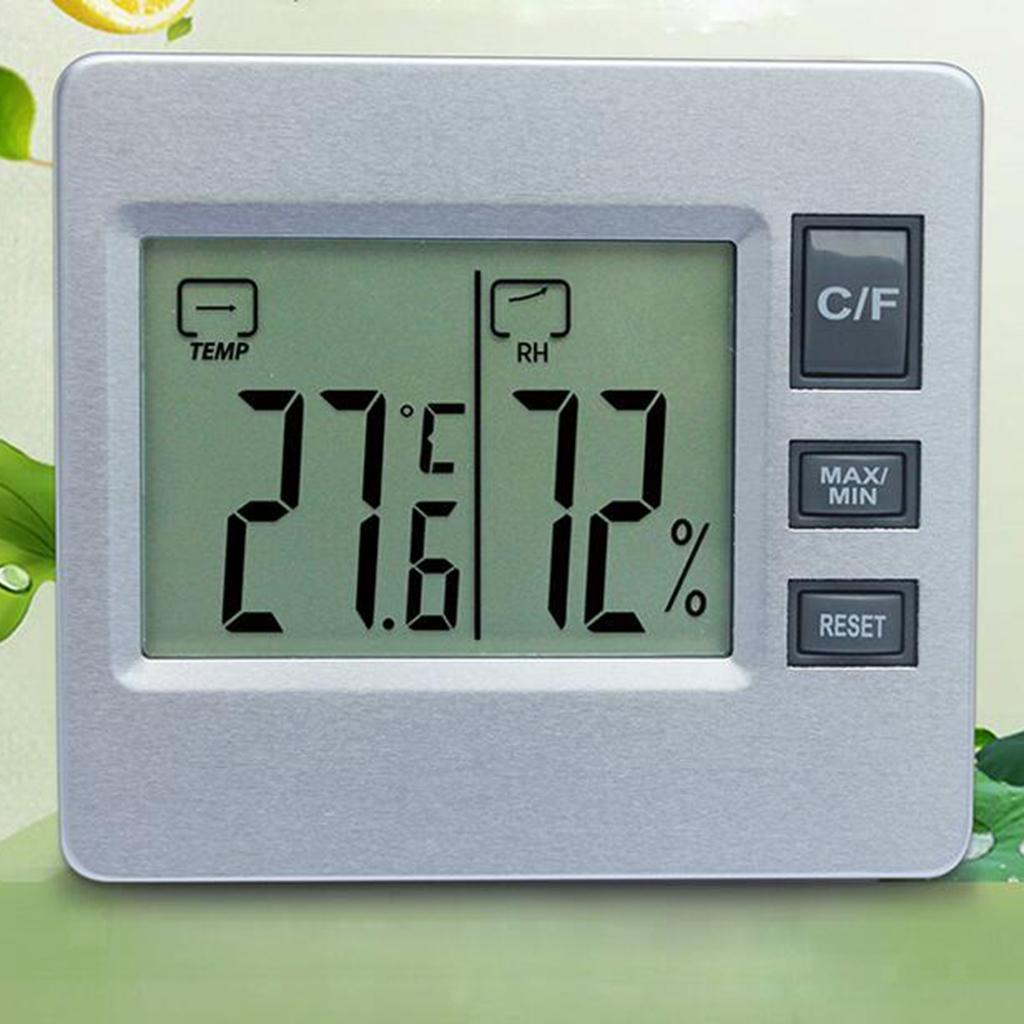 Strumenti-Per-Idrometro-con-Termometro-Digitale-per-Stazioni-Meteo-da miniatura 8