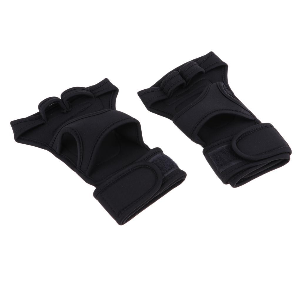 Fitness-Gloves-Weight-Lifting-Gym-Workout-Training-Wrist-Support-Wrap-Straps thumbnail 9