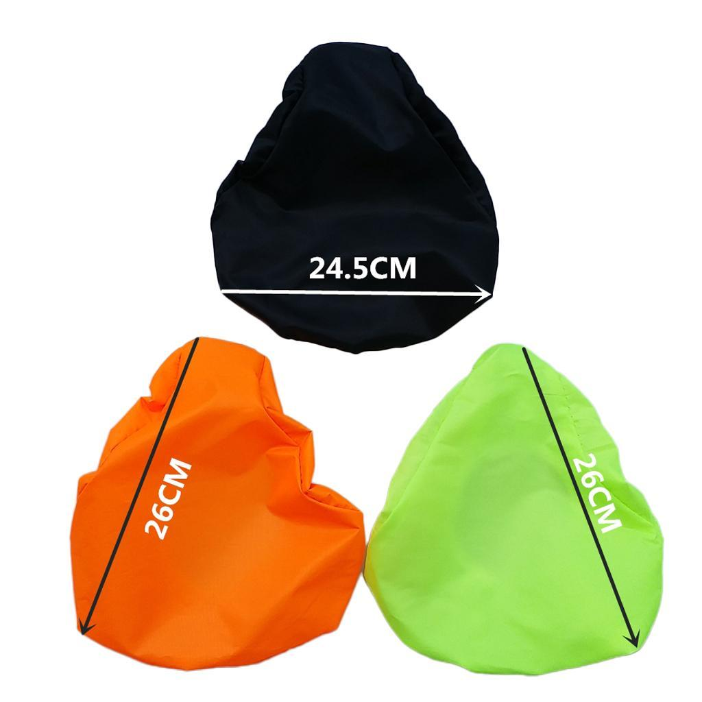 New Bike Seat Waterproof Rain Cover Dust Resistant Bicycle Saddle Cover Black
