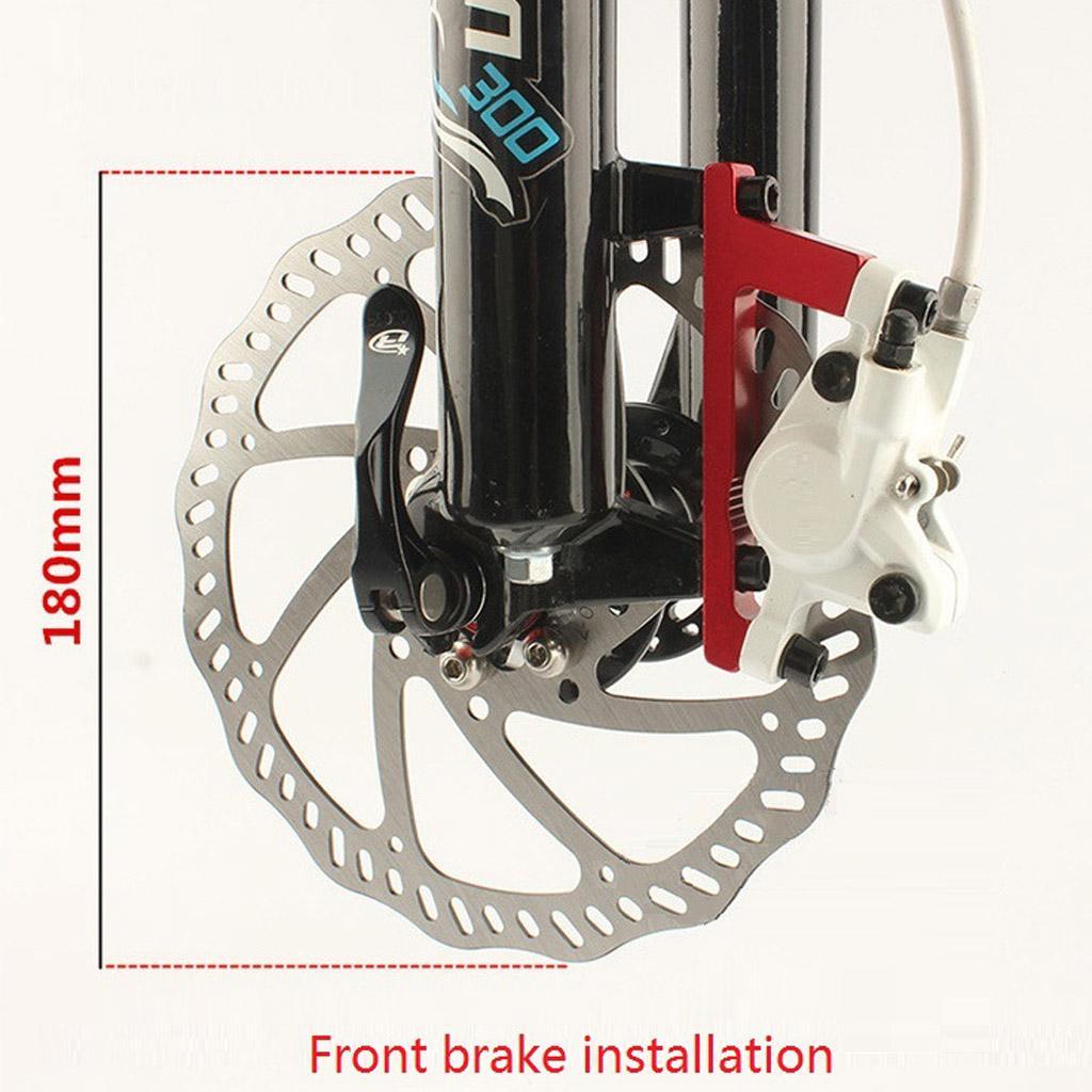 Bike Disc Brake Bracket Frame Adaptor for 160mm Rotor Bicycle Components