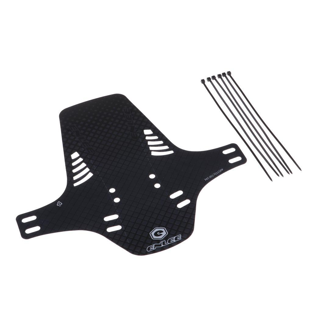 Parafanghi-MTB-per-Mountain-Bike-Parafango-anteriore-con-cinturino miniatura 7