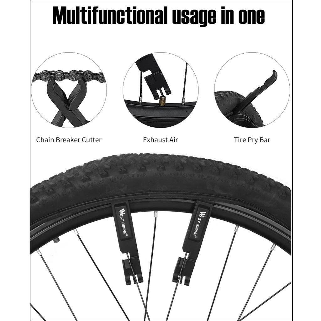 3X Cycling Bicycle Nylon Tire Tyre Lever Bike Repair Opener Breaker Tool XS Ho