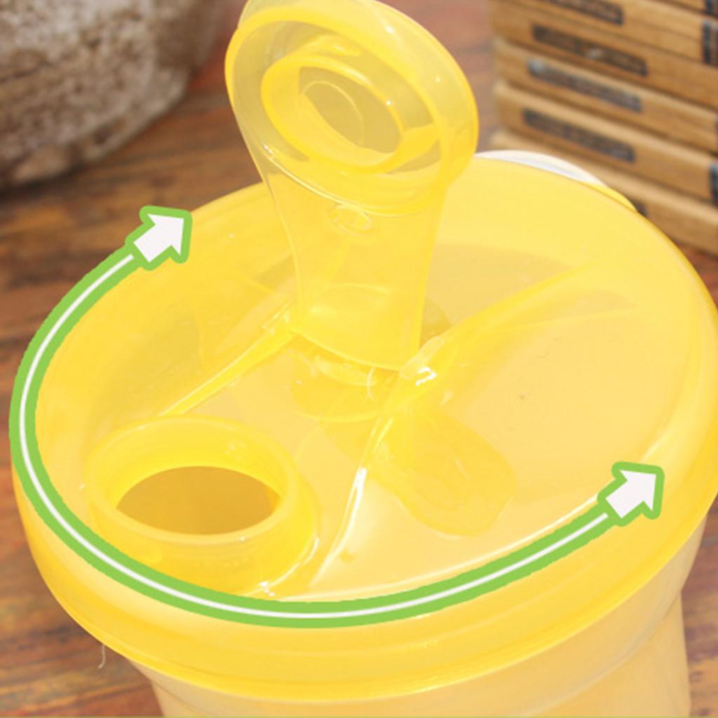 Baby Milchpulver Portionierer Schale Aufbewahrung Flasche Zubehör für Reise